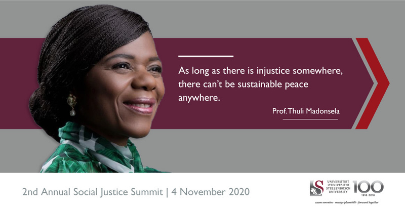 The Second Annual Social Justice Summit, 4 November 2020